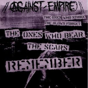 Image for 'The Ones Who Strike The Blows Forget...The Ones Who Bear The Scars Remember'