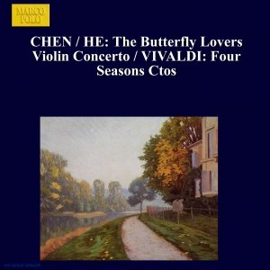 Image pour 'CHEN / HE: The Butterfly Lovers Violin Concerto / VIVALDI: Four Seasons Ctos'