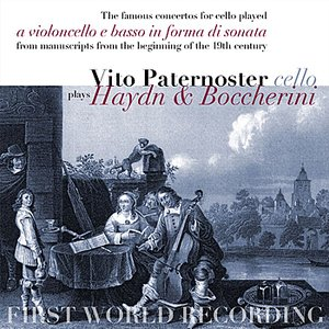 Image for 'Vito Paternoster plays Haydn & Boccherini'