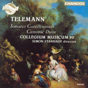 Image for 'Telemann: 6 Sonates Corellisantes / 12 Canons Melodieux, Ou 6 Sonates En Duo (Excerpts)'