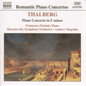 Image for 'THALBERG: Piano Concerto in F Minor / Souvenirs de Beethoven'