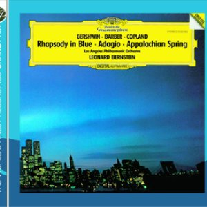 Image for 'Gershwin: Rhapsody in Blue / Copland: Appalachian Spring / Barber: Adagio for Strings'