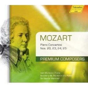 Immagine per 'Mozart: Piano Concertos Nos. 20, 23, 24, 25'