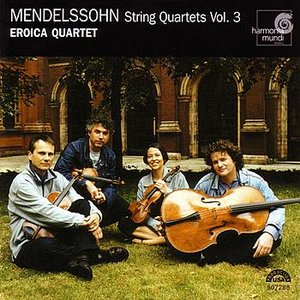 Image for 'Mendelssohn: String Quartets Vol. 3'