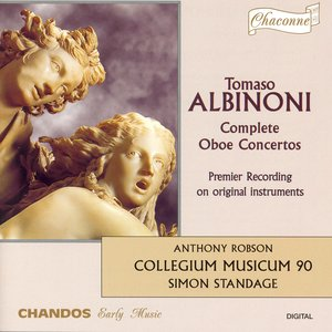Image for 'Albinoni: Oboe Concertos in B Flat Major / F Major / C Major / G Minor / C Major / B Flat Major'