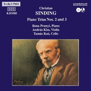 Image for 'SINDING: Piano Trios Nos. 2 and 3'