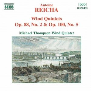 Image for 'REICHA: Wind Quintets, Op. 88, NO. 2 and Op. 100, No. 5'