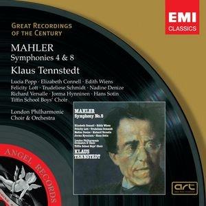 Bild för 'Mahler: Symphonies 4&8'