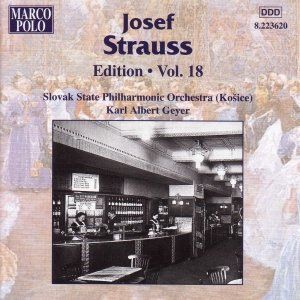 Image for 'STRAUSS, Josef: Edition - Vol. 18'