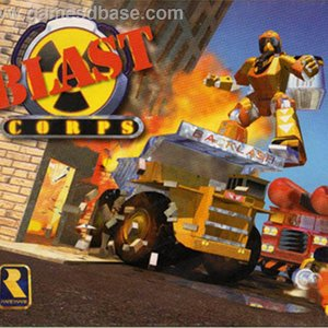 """Blastcorps for Nintendo 64""的封面"