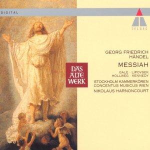 """Handel Messiah""的封面"