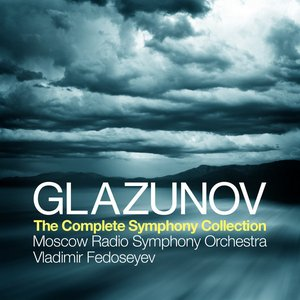 Image for 'Glazunov: The Complete Symphony Collection'