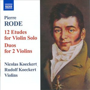 Image for 'Rode: 12 Etudes for Violin Solo - Duos for 2 Violins'