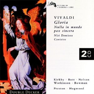 Image for 'Gloria - Nulla in mundo pax sincera (Disc 1)'