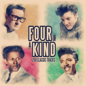 Image for 'Four of a Kind - 200 Classic Songs (From Elvis Presley, Little Richard, Johnny Cash and Chuck Berry)'
