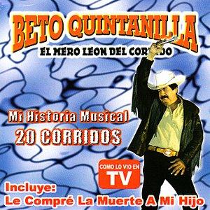 Immagine per 'Mi Historia Musial 20 Corridos'