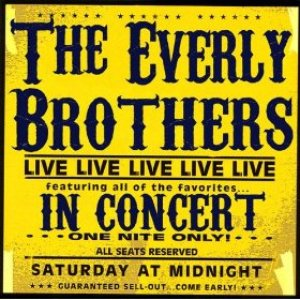 Image for 'The Everly Brothers In Concert'