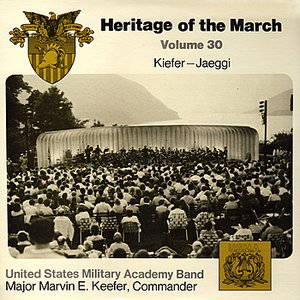 Image pour 'Heritage of the March, Vol. 30 - The Music of Kiefer and Jaeggi'