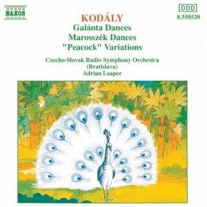 Imagen de 'KODALY: Galanta Dances / Marosszek Dances / The Peacock'