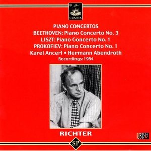 Image for 'Richter Plays Beethoven, Liszt, Prokofiev'