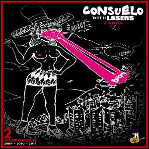 """Image for 'Consuelo With Lasers: 2 Anos CD 2 """"Distorção""""'"""