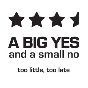 Image for 'Too little, Too late'
