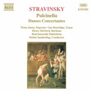 Image for 'STRAVINSKY: Pulcinella / Danses Concertantes'