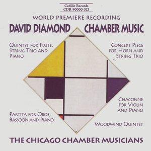 Image pour 'David Diamond Chamber Music'