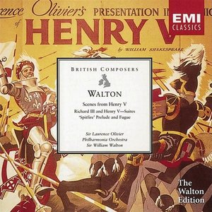 Immagine per 'Walton: Henry V - Scenes from the film, and other film music'