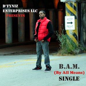Bild für 'B.A.M. (By All Means) - Single'