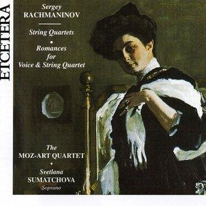 Image for 'Sergey Rachmaninov, String Quartets, Romances for Voice & String Quarte'