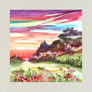 Image pour 'Sunset Mountain (Eon Isle)'