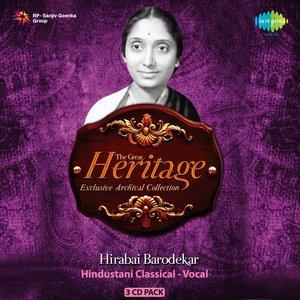 Image for 'The Great Heritage Hirabai Barodekar Cd 1'