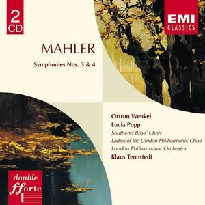 Image for 'Mahler:Symphonies 3 & 4'