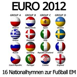 Image pour 'EURO 2012 (16 Nationalhymnen zur Fußball EM)'