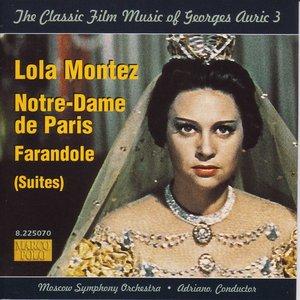 Image for 'Auric: Lola Montez / Notre-Dame De Paris / Farandole'