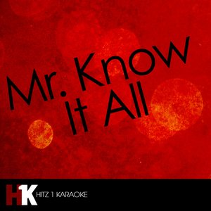 Imagen de 'Mr. Know It All - Single'