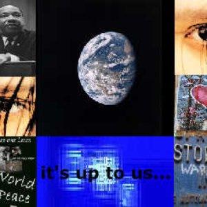 Bild für 'it's up to us...'