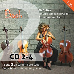 Image for 'Bach: Six Suites for Unaccompanied Cello (Vol. 2)'
