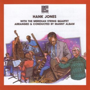 Immagine per 'Hank Jones with the Meridian String Quartet'