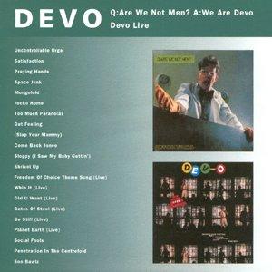 Imagem de 'Q: Are We Not Men? A: We Are Devo / Devo Live'
