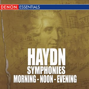 Image for 'Haydn - Symphonies - Morning - Noon - Evening'
