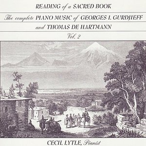 Image for 'GURDIJEFF / DE HARTMANN: Reading of a Sacred Book, The Complete Piano Music of Georges Gurdjieff & Thomas de Hartmann, Vol. 1'