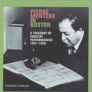 Image for 'Pierre Monteux in Boston (1951-1958)'