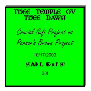 Image for 'Crucial Sufi Project vs Parson's Brown Project'