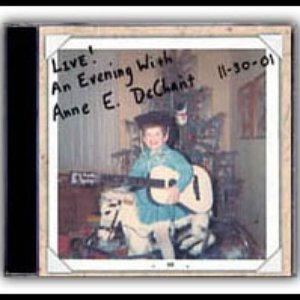 Image pour 'Live! An Evening With Anne E. DeChant'