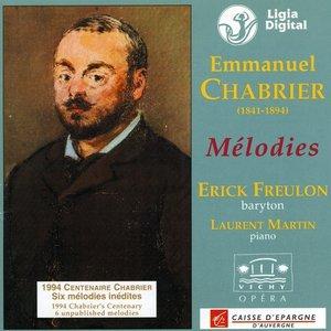 Image for 'Les melodies d'Emmanuel Chabrier'