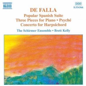 Image for 'FALLA: Popular Spanish Suite / Piano  Pieces / Harpsichord Concerto'