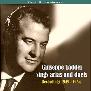 Immagine per 'Great Opera singers: Giuseppe Taddei Sings Arias and Duets, Recordings 1949 - 1954'