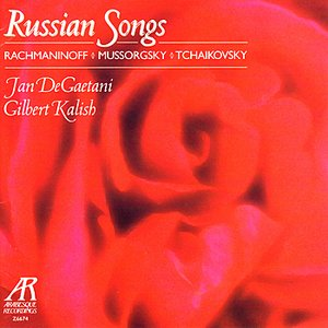 Image pour 'Russian Songs - Rachmaninoff, Mussorgsky, Tchaikovsky'